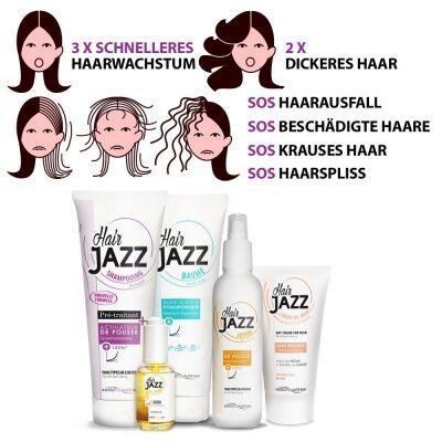 HAIR JAZZ Set für längere und stärkere Locken!