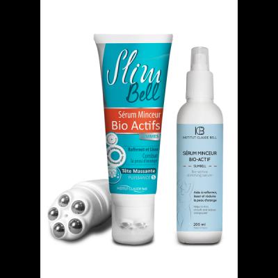 Slimbell - Anti Cellulite Schlankmacher Serum und Massage Bio-Active Serum