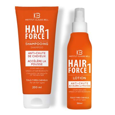 HAIR FORCE Shampoo und Lotion - hilft den Haarausfall zu stoppen!