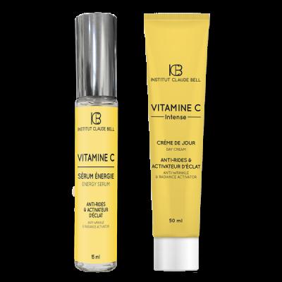 Intensiv Wirkende Creme Und Serum Mit Vitamin C